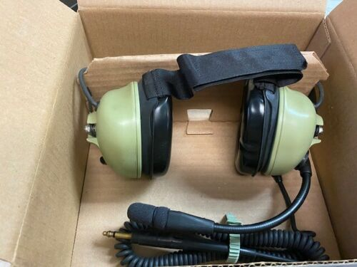 David Clark H3442 Green Behind the Head Headsets