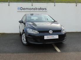Volkswagen Golf S TSI BLUEMOTION TECHNOLOGY (black) 2017-01-23