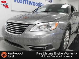 2012 Chrysler 200 200 FWD with power heated seats and low mileag