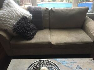 Matching sofa and love seat - Both for 400