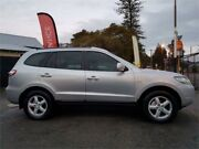 2008 Hyundai Santa Fe CM MY08 Upgrade SX CRDi (4x4) Silver 5 Speed Automatic Wagon Mount Hawthorn Vincent Area Preview