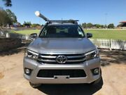 2017 Toyota Hilux GUN126R SR5 Double Cab Silver 6 Speed Manual Utility Prospect Prospect Area Preview