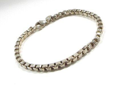 Auth TIFFANY&Co. Venetian Silver Bracelet