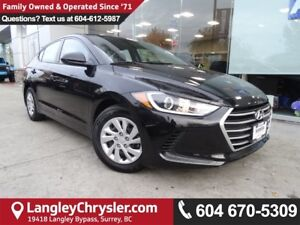 2017 Hyundai Elantra LE *ACCIDENT FREE*ONE OWNER*LOCAL BC CAR*