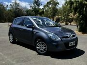 2011 Hyundai i20 PB MY11 Active Grey 4 Speed Automatic Hatchback Mile End South West Torrens Area Preview