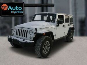 2015 Jeep Wrangler Unlimited RUBICON, LEATHER, NAV, NICE UNIT