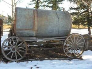 Vintage Water Wagon $1200.00
