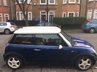Low Mileage Classic 2001 Blue Mini. Excellent 1st Car option!