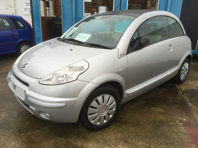 2009 citroen c3 pluriel 1 4hdi exclusive 2dr convertible 2 door convertible in newport pagnell. Black Bedroom Furniture Sets. Home Design Ideas