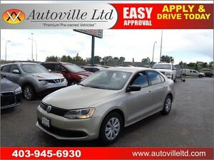 2013 VW JETTA MANUAL LOW KM HEATED SEATS