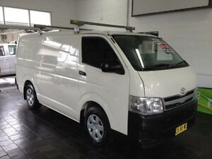 2012 Toyota Hiace TRH201R MY11 Upgrade LWB White 4 Speed Automatic Van Sutherland Sutherland Area Preview