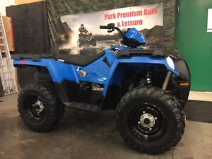 $59 Bi-weekly!!! 2017 Polaris Sportsman with winch  ONLY 160KMS!