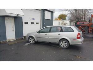 2006 Chevrolet Optra Familiale LS FINANCEMENT AUCUN CAS REFUSER!