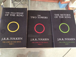 Lord of the Rings bookset (mint shape)