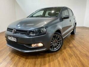 2015 Volkswagen Polo 6R MY15 66 TSI Trendline Grey 7 Speed Auto Direct Shift Hatchback Kingsgrove Canterbury Area Preview