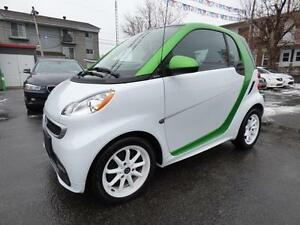 2014 SMART FORTWO ELECTRIC DRIVE (TOIT PANO, NAVI, CRUISE, FULL)
