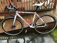 2 x used Focus Mares AX 2.0 Disc Cyclocross Bike - 17 months old in prime condition (Size: S & XS)
