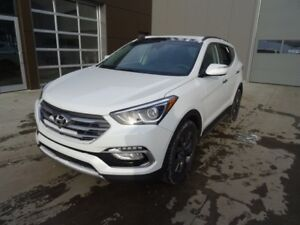 2018 Hyundai Santa Fe Sport AWD ULTIMATE Heated steering wheel,