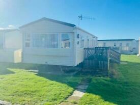 Cheap 3 bedroom family holiday with decking, pet friendly site