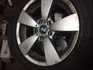 4 BMW Rims and 4 Winter Tires 225/50R17