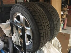 Camry Winter Tires and Wheels
