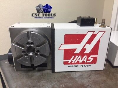 Haas Hrt-160 Brush 17 Pin Rotary Table Indexer 4th Axis 6000 With Control Box