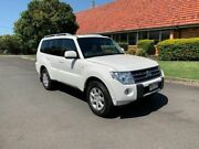 2011 Mitsubishi Pajero NT GLS White 5 Speed Automatic Wagon Chermside Brisbane North East Preview