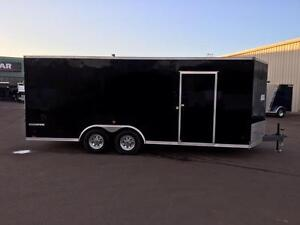 NEW 2018 PACE 8.5' x 20' CARGO SPORT ENCLOSED TRAILER