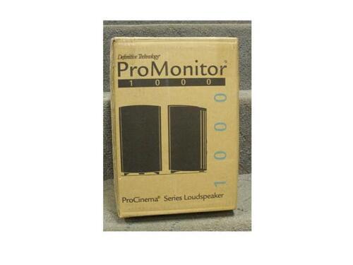 """Definitive Technology ProMonitor 1000 5-1/4"""" Bookshelf Speaker (Each) Black Pro Monitor 1000 Black"""