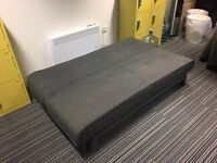 FREE grey sofa bed (collection only) - excellent condition