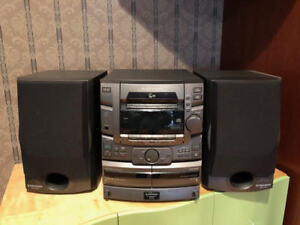 Pioneer Stereo System: 25 CD Deck + Radio + 2 Cassette Players!
