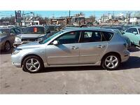 2006 Mazda Mazda3 GS 124k!!! Hatchback, 2.3L, Alloys, Fog Lights