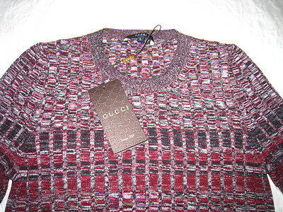 New With Tag Gucci Women's Sweater Knit Top Size Large $795.00