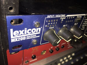 Lexicon Mx 200 reverb and effects hardware DSP