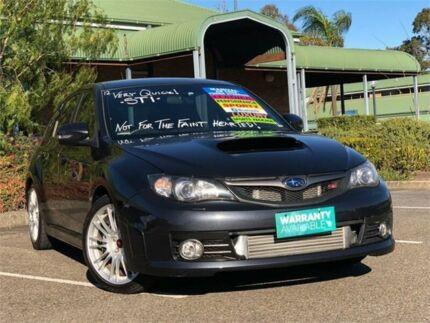 2008 Subaru Impreza G3 MY08 WRX STI Spec R Grey Manual Hatchback Mount Druitt Blacktown Area Preview