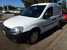 2011 Holden Combo XC MY11  5 Speed Manual Van Homebush West Strathfield Area Preview