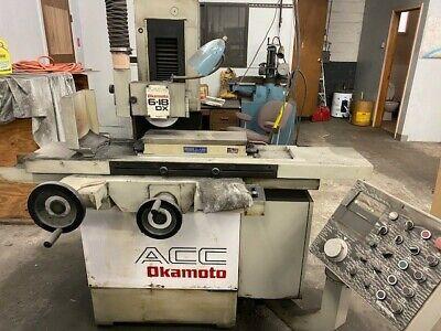 6x18 Okamoto Automatic Surface Grinder