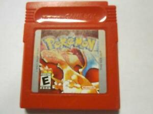 NINTENDO GAMEBOY POKEMON RED FOR SALE $40