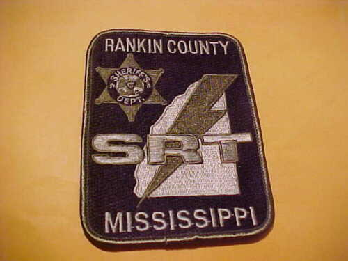 RANKIN COUNTY MISSISSIPPI POLICE PATCH SHOULDER SIZE UNUSED