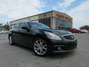 2013 Infiniti G37 S AWD, NAV, ROOF, HTD. LEATHER!