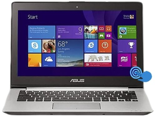 """ASUS ASQ301LA-BSI5T17-S 13.3"""" Laptop Intel Core i5 1.60GHz 500GB HDD 6GB Memory"""
