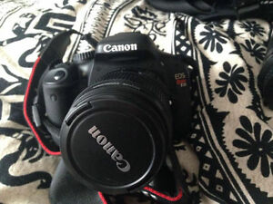 Canon t2i 18-55mm IS + 55-250mm IS Negotiable