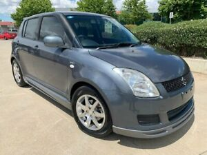 2008 Suzuki Swift RS415 RE3 Grey 5 Speed Manual Hatchback Fyshwick South Canberra Preview