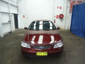 2004 Ford Falcon Burgundy 4 Speed Automatic Sedan Cardiff Lake Macquarie Area Preview