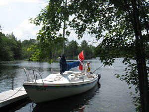 Sailboat and trailer for sale