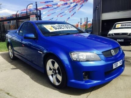 2009 Holden Commodore VE MY10 SV6 6 Speed Automatic Utility Brooklyn Brimbank Area Preview