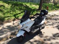 2008 Kymco Xciting scooter moto motorcycle