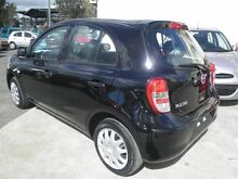 2014 Nissan Micra K13 MY13 ST-L Black 4 Speed Automatic Hatchback Strathpine Pine Rivers Area Preview