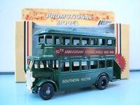 Lledo Promo Model AEC Regent D/D Bus Southern Vectis 50th Anniversary Hornby Dublo 1938-1988