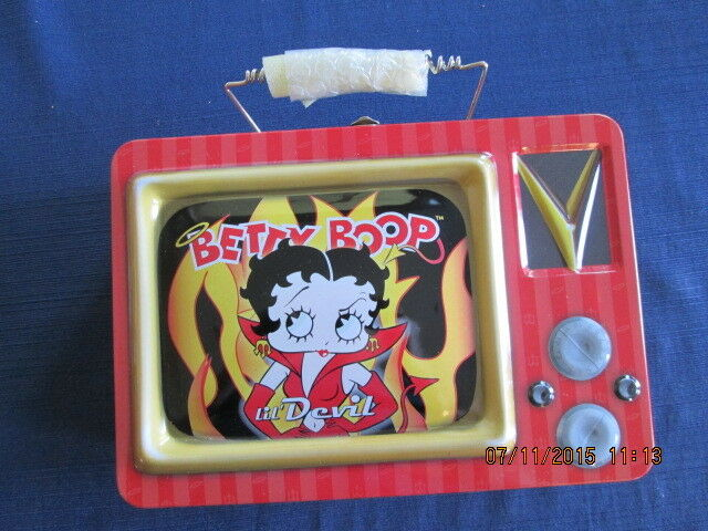 BRAND NEW in wrap BETTY BOOP lunch box T.V. Lil